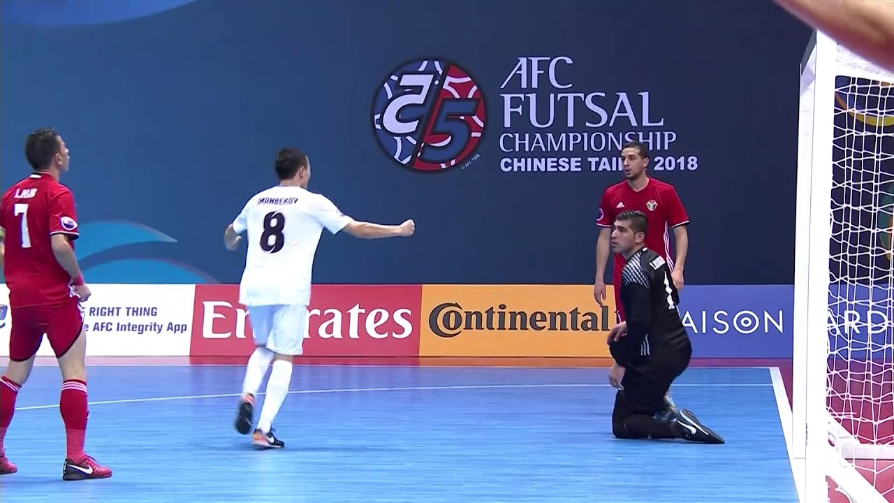 Video: Futsal Jordan vs Futsal Kyrgyzstan