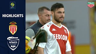 AS MONACO - NÎMES OLYMPIQUE (3 - 0) - Highlights - (ASM - NO) / 2020-2021