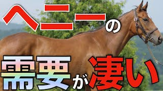 【種付け料500万】種牡馬ヘニーヒューズが想像以上に熱かった!ダート路線の需要高まりを感じる。【一口馬主】