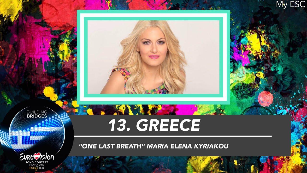 Top 40 Eurovision 2015 My Esc Upload Youtube