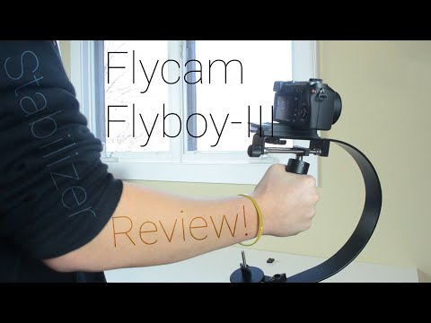 Best Cheap Stabilizer? Flycam Flyboy-III Review!