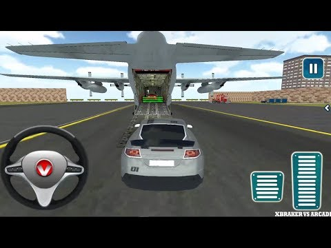 Airplane Pilot Car Transporter Simulator 2017 - Android GamePlay FHD