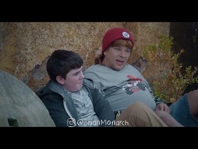 Theo Von as Gavin McGregor (Lunatics) Brendan Schaub Cameo - Chris Lilley Deepfake