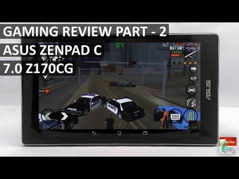 Asus Zenpad C 7.0 Gaming Performance - Part 2