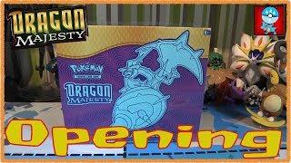 Pokemon TCG: Sun & Moon: Dragon Majesty Elite Trainer Box Opening!