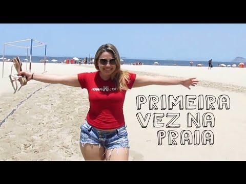Primeira vez na praia -  Rio de Janeiro - Copacabana