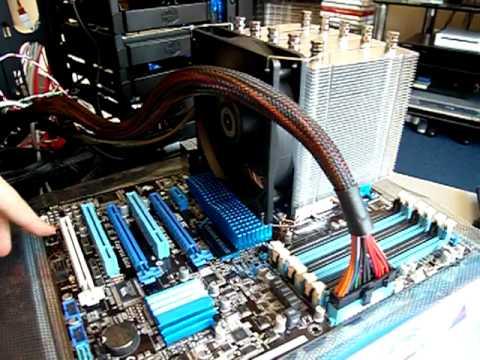 Asus DRAM_LED red light P6X58D-E