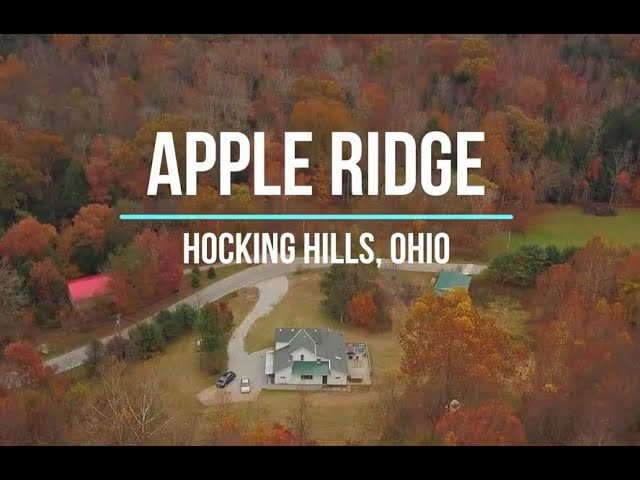 Apple Ridge - Hocking Hills Ohio - Sleeps 20 guests - 5 min to Old Man's Cave
