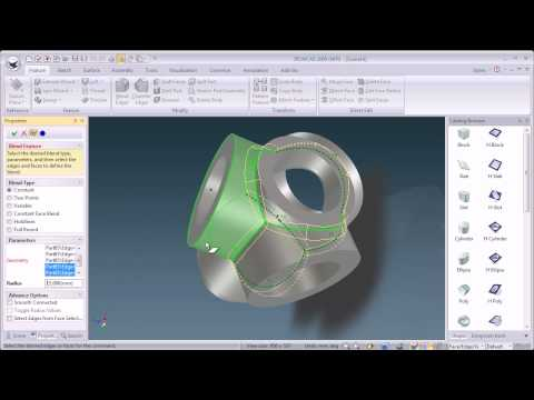 IronCAD ease of use