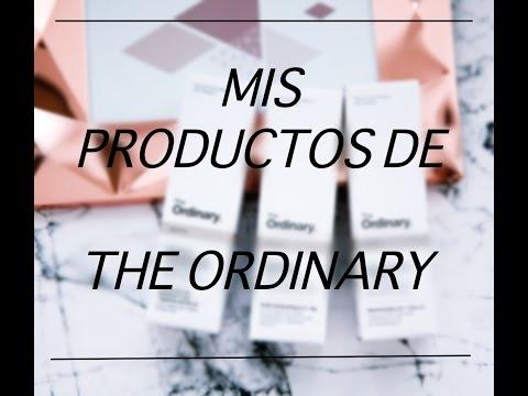 Mis productos de THE ORDINARY - ¿Cómo los uso? ¿para qué sirven?
