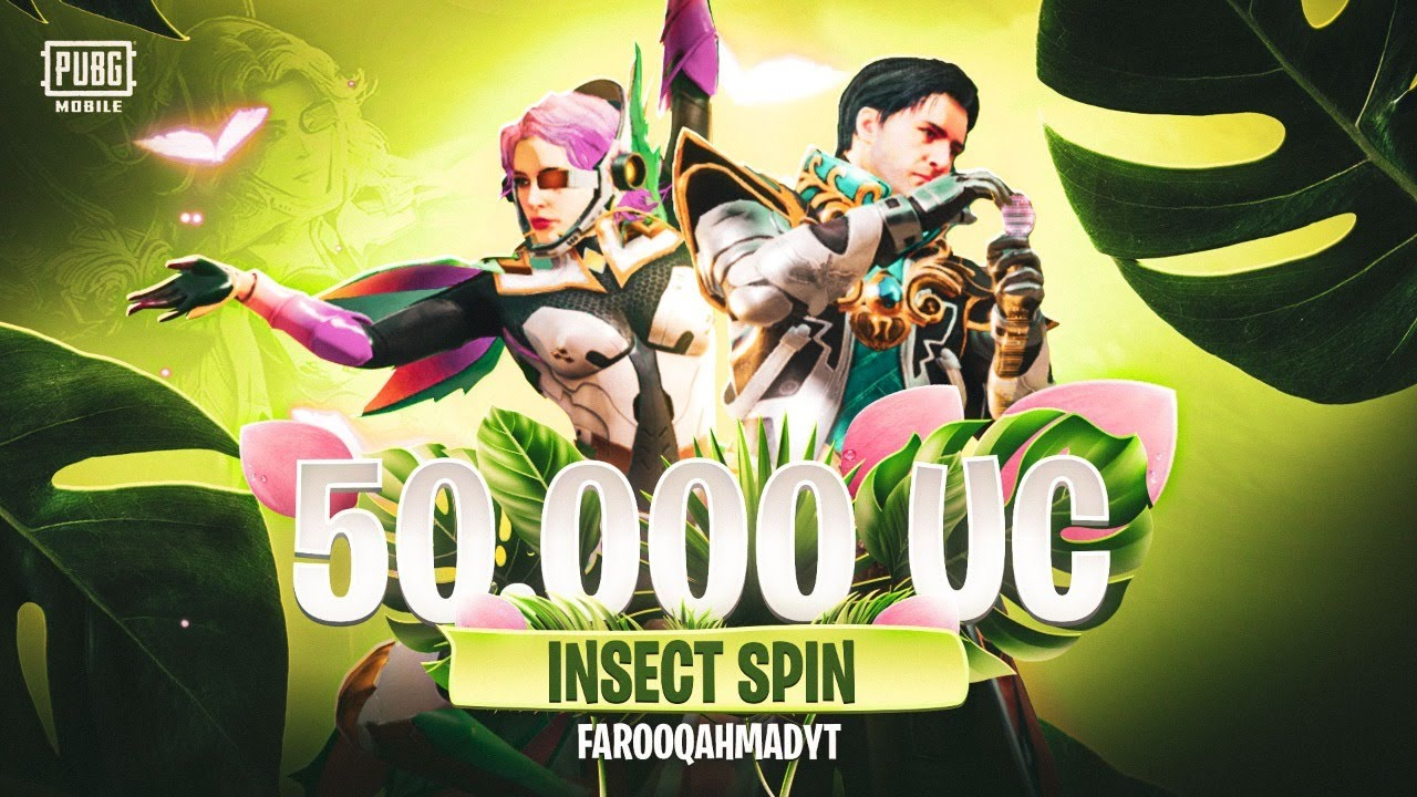 New Insect Spin $32,000 UC | Royal Pass Giveaway | 🔥 PUBG MOBILE🔥