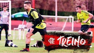 Flamengo treina visando a final do Carioca contra o Vasco