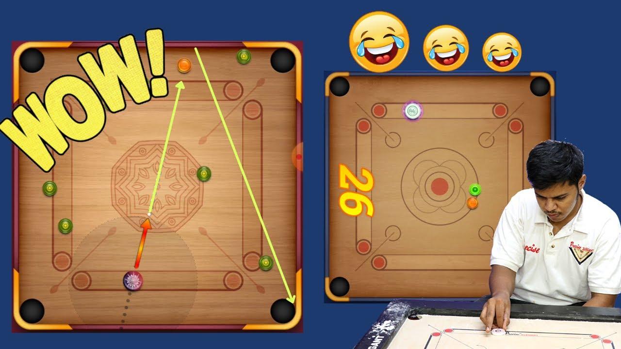 Insane & Very Funny Carrom Pool Gameplay