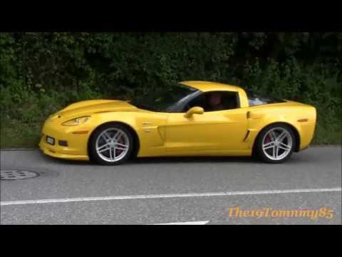 """Corvette C6 ZR1""  C6 Z06 ""C6 6.2 Grand Sport"" C5 Z06, C3 + C2 Stingray!!! Great Sounds + Backfire!!"