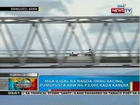 BP: Illegal drag racing sa Bangued, Abra, nakunan ng video