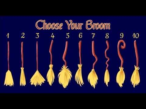 What Kind of Witch Are You? Choose Your Broom and Discover