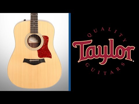 2016 Taylor 210e DLX Acoustic Electric Guitar - Manchester Music Mill