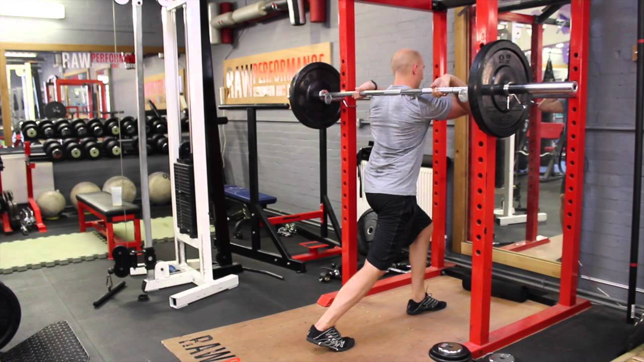 Front Squat Rack Stretch Youtube