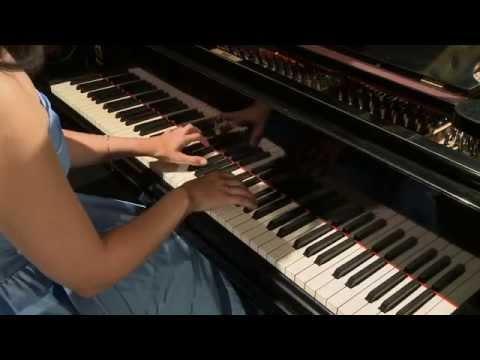 Katalin Zsubrits plays Debussy Arabesque No. 1.