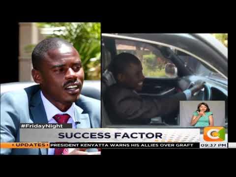 SUCCESS FACTOR | John Paul Mwirigi - Youngest ever Kenyan Member of Parliament