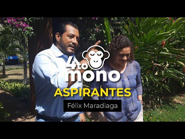 Aspirantes: Entrevista a Félix Maradiaga