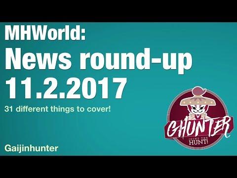 Monster Hunter World: News Roundup [Nov. 2]