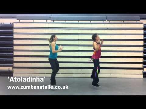 'Atoladinha' Zumba Fitness brazilian funk