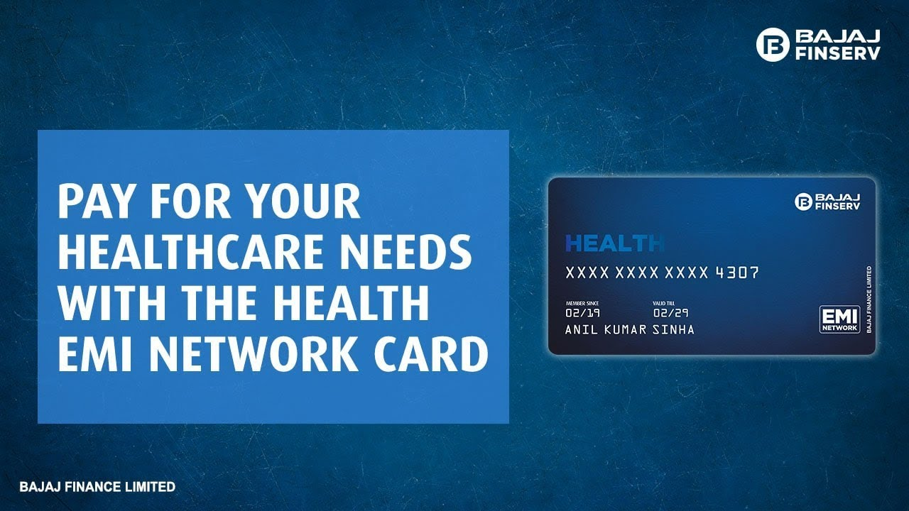 Convert Your Healthcare Needs Into Easy EMIs with the Health EMI Network Card