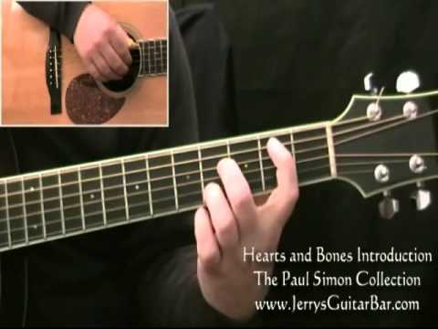 How To Play Paul Simon Hearts and Bones Introduction