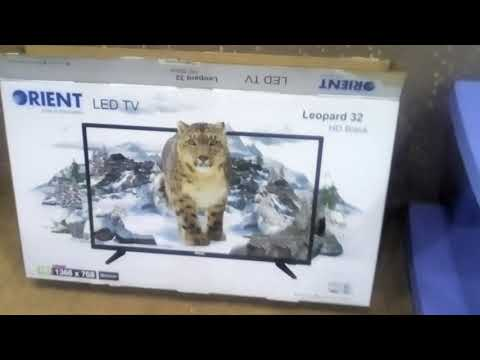 Orient Led tv 32 inch Leopard Hd Black latest Model 2017