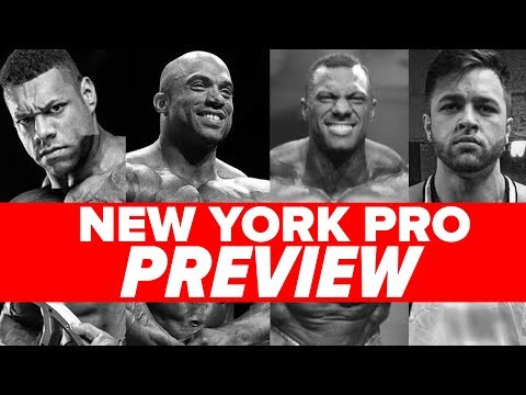 NEW YORK PRO PREVIEW! Heavy Muscle Radio (5/14/18)