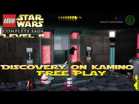 Lego Star Wars TCS: Ep 2 Chap 2 / Discovery on Kamino FREE PLAY (All Collectibles) - HTG