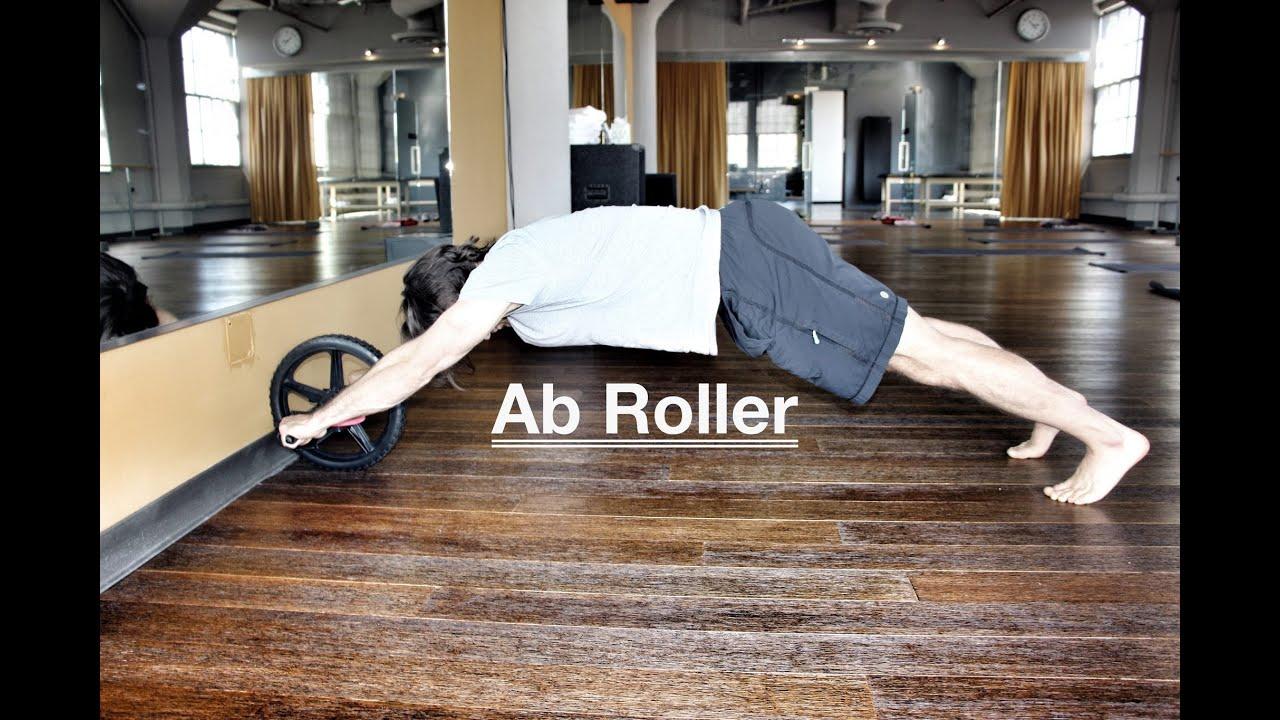 ab roller with celebrity trainer youtube. Black Bedroom Furniture Sets. Home Design Ideas