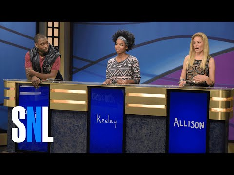 Thumbnail: Black Jeopardy with Elizabeth Banks - SNL