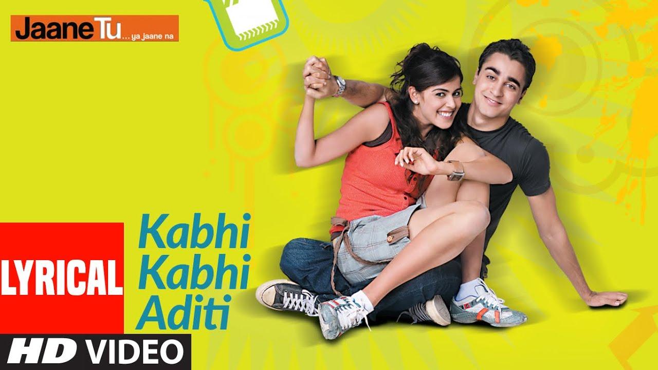 Download Lyrical: Kabhi Kabhi Aditi Zindagi | Jaane Tu Ya Jaane Na | A.R. Rahman | Rashid Ali