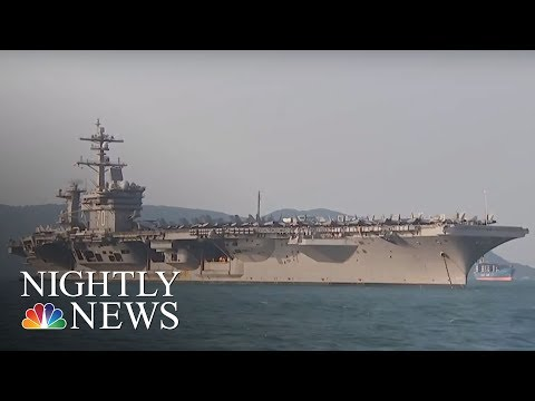 USS Carl Vinson in Vietnam sends a message to China | NBC Nightly News