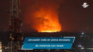 Al menos veinte palestinos, entre ellos nueve niños, murieron hoy en la Franja de Gaza y 65 resultaron heridos en plena escalada de violencia con Israel, que incluyó el disparo masivo de cohetes desde el enclave, que hicieron sonar las alarmas en Jerusalén