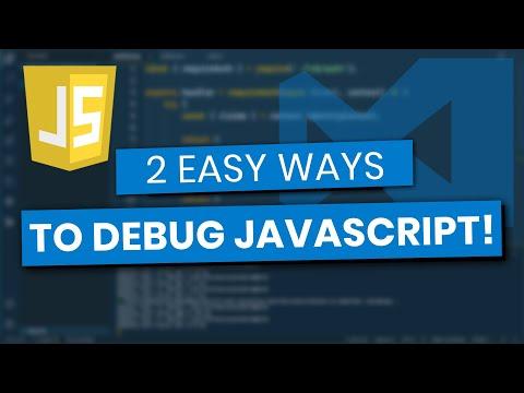 Debugging JavaScript (Google Chrome And Visual Studio Code)