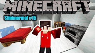 Minecraft Stinknormal #15: KAAN WILL IN DER SCHNEE TUNDRA ÜBERLEBEN! FINDET DIREKT GOLD!
