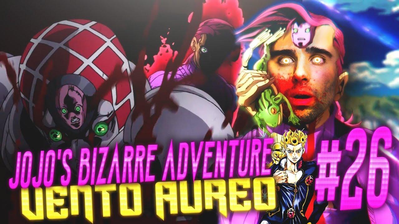 Download DOPPIO?? - JoJo's Bizarre Adventure: Vento Aureo Ep 26   REACTION