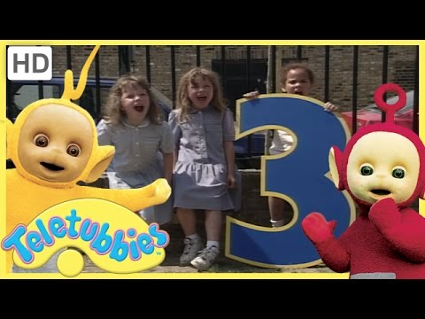 Teletubbies - Numbers 3 (Season 2, Episode 48 Full HD Episode)