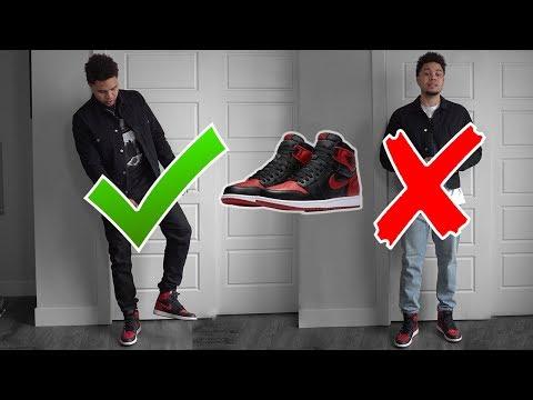 Air Jordan 1 Bred! Fashion Nova Men