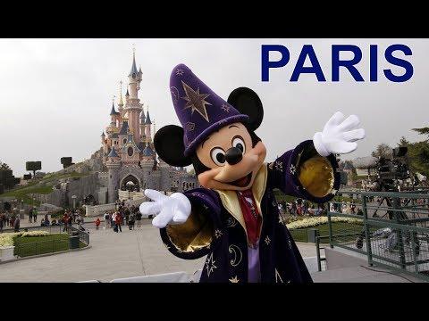 Disneyland Park PARIS Complete Walkthrough France  HD