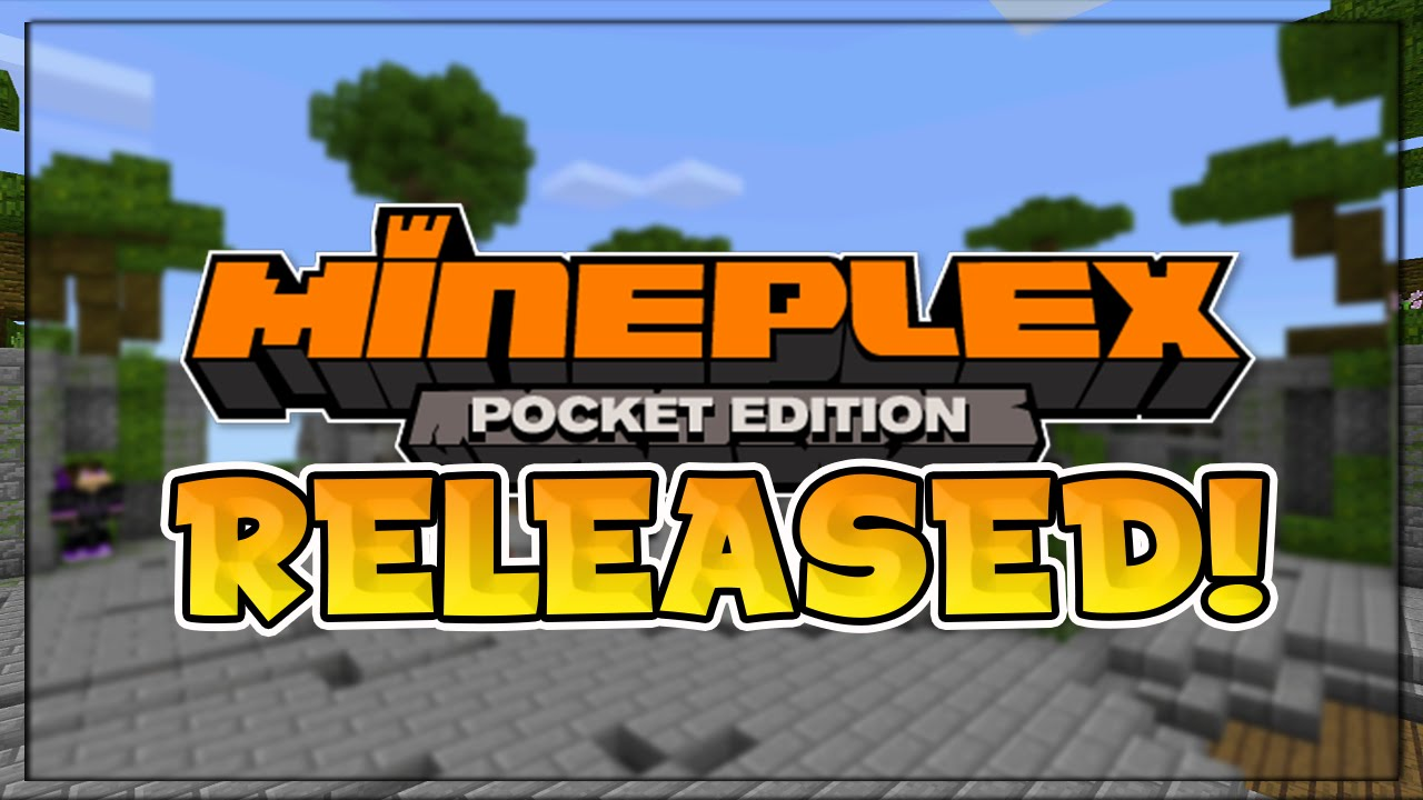 minecraft pocket edition mineplex server