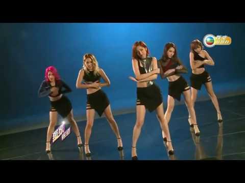 SuperGirls-為靚忍痛著高踭鞋跳舞