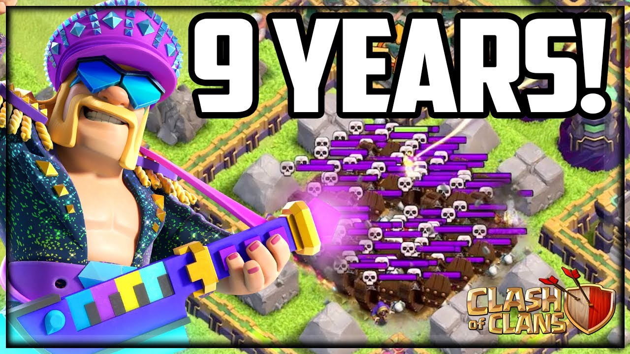 BEAT The Clash of Clans 9th Clashiversary Challenge!