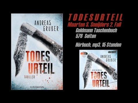 Todesurteil YouTube Hörbuch Trailer auf Deutsch