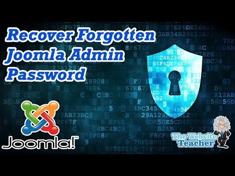 How To Reset Your Joomla Admin Password