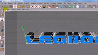 Cinema4D - Rendering 3D Text With No Background
