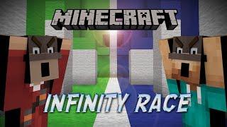 Download Mp3 Minecraft: 1v1 Race  Infinity Race